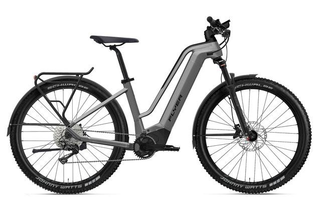 E-Bike FLYER Goroc2 Comfort silber