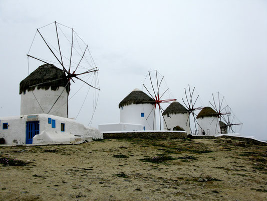 Windmills on my mind in Mykonos