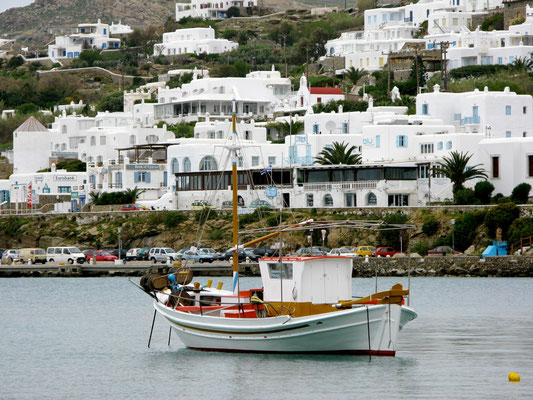Gone fishing in Mykonos