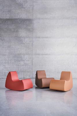 GRAND PRIX Sessel und Schaukelstuhl