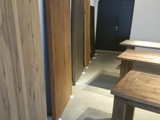 Tischplatten aus Massivholz