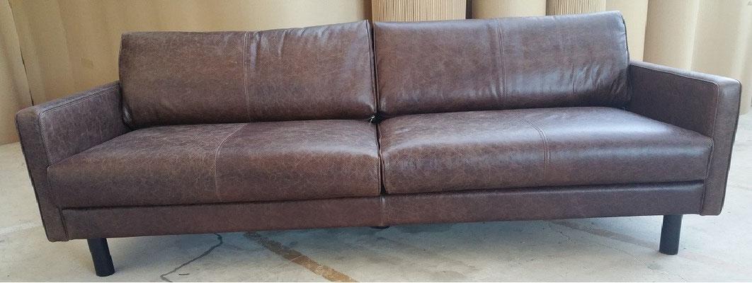 SEATTLE Vintage Sofa in verschiedenen Leder
