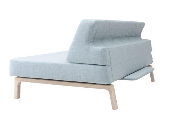 Sofa mit Schlaffunktion, Seite