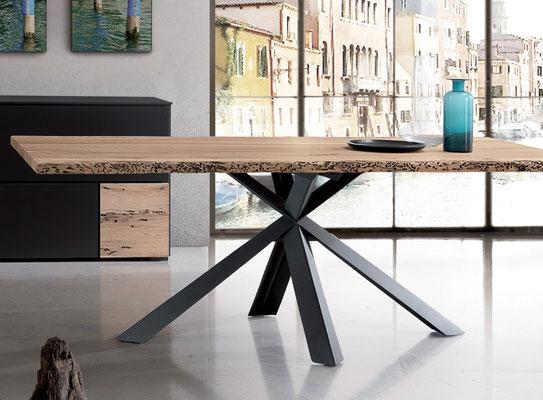 VENEDIG Unikattisch aus Briccola Holz