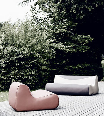 Softline Aussensofa Fluid Outdoor