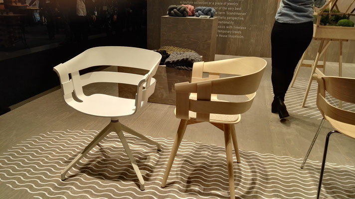 Armlehnstühle aus Schichtholz