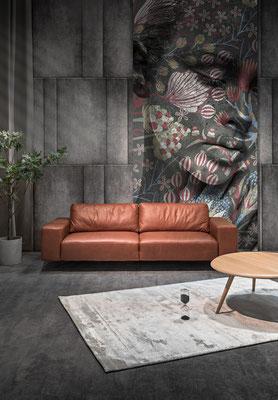 Furninova Ledersofa Melbourne, direkt vom Hersteller