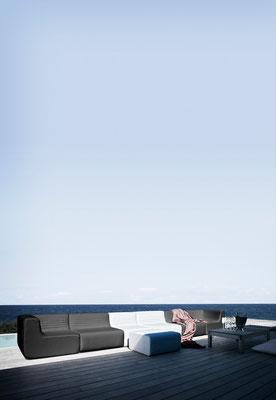 LOFT Sofaelemente, indoor und outdoor by Softline