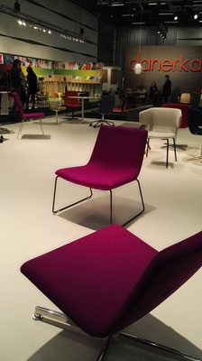 Sessel in Fuchsia