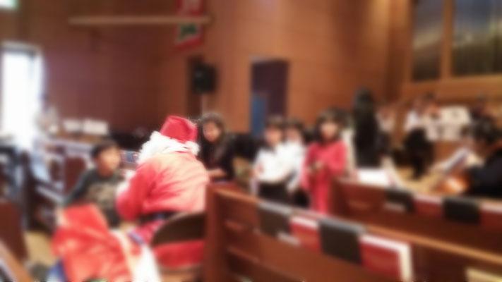 クリスマス会(2015.12)ユニオン教会