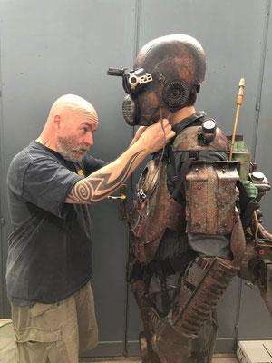 sul set di Copperman - luglio/agosto 2018