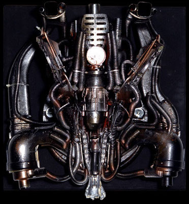MOLINELLI - TECNOMORFO - 24 - EATER - 1995 - 60x60