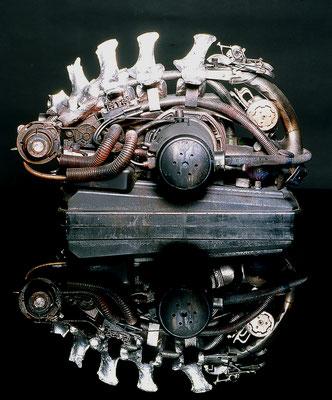 MOLINELLI - TECNOMORFO - 01 - PRIMITIVE MOTORS - 1990 - 50x25x25