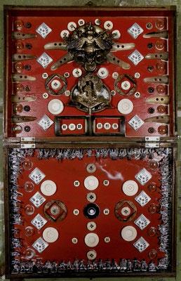 MOLINELLI - ICONE - 123 - SANTI DA VIAGGIO VIII - LA GUERRA DEI BOTTONI - 2011 - 36X58