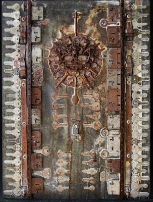 57 - ONE-HUNDRED KEYS - 2005 - 64X48
