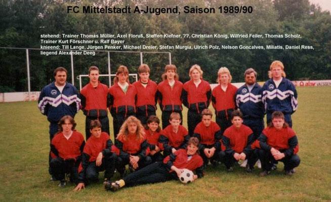 A-Jugend 1989/1990
