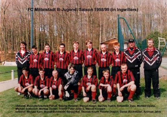 B-Jugend 1998/1999