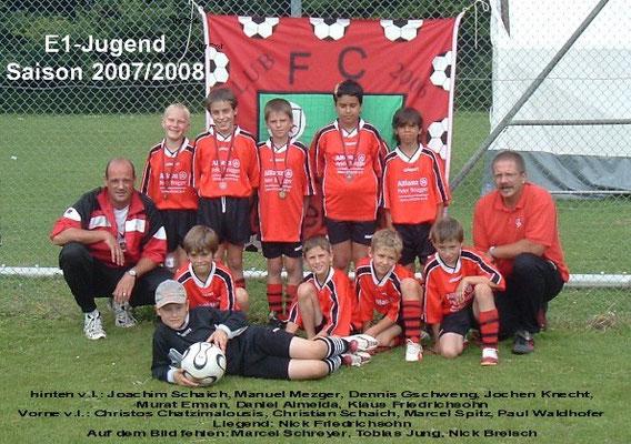 E-Jugend 2007/2008
