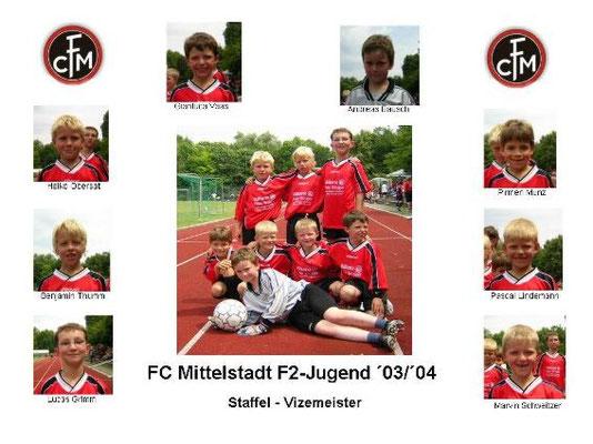 F2-Jugend 2003/2004