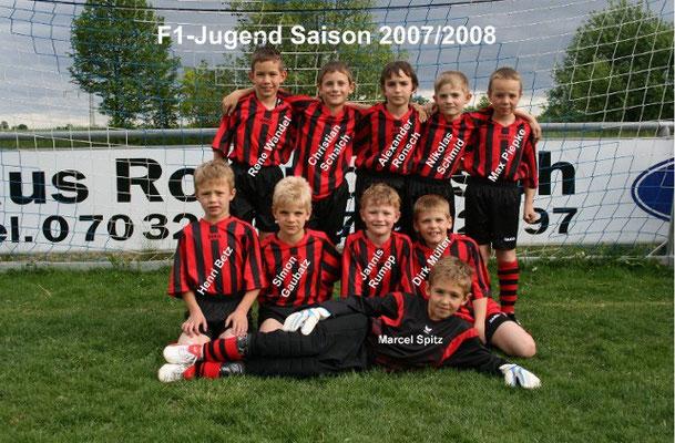 F1-Jugend 2007/2008