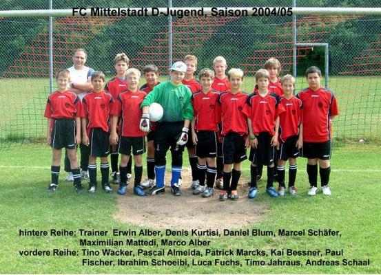 D-Jugend 2004/2005