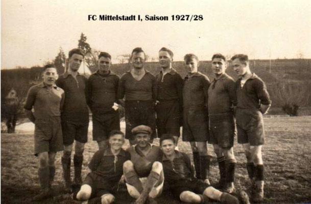 1. Mannschaft 1927/1928