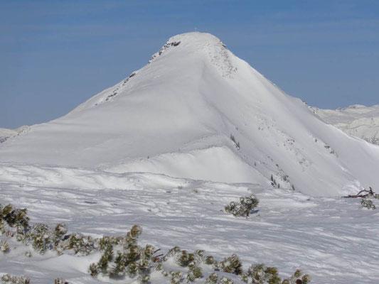Blick auf Schober Spitze 2.126 m