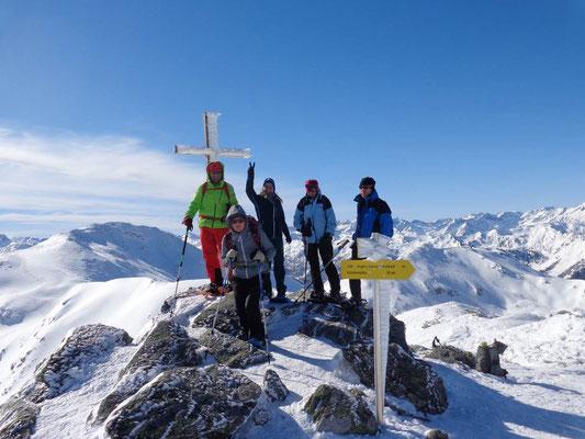 Gipfel erreicht: Karlspitze 2.097 m
