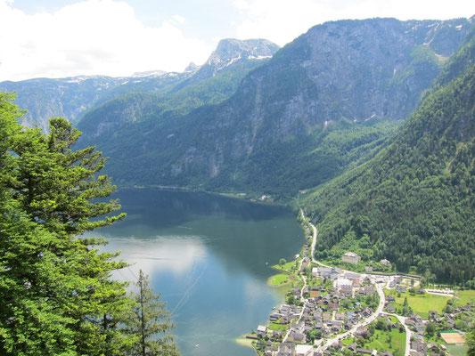 Echernwand Klettersteig Hallstatt - © Bleisch