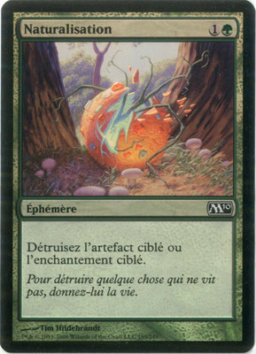 Naturalize French M10 foil