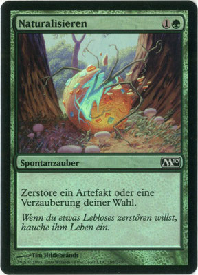 Naturalize German M10 foil