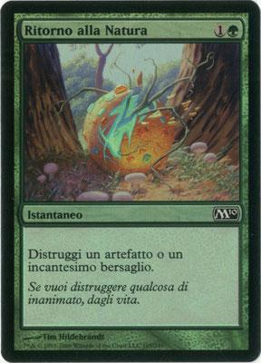 Naturalize Italian M10 foil