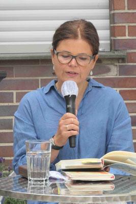 Julia Franck liest aus ihrem Roman.