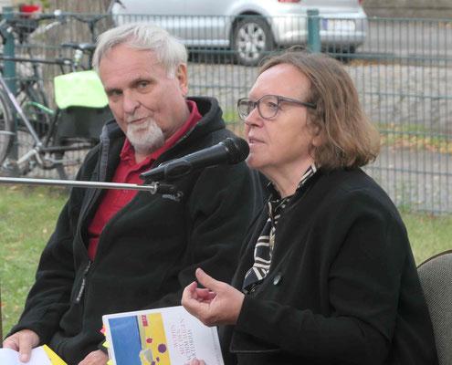Webmaster Dr. Gerhard Weil und Frau Hofmann-Paul