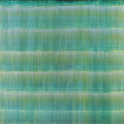 4. 3. 01, 150 x150 cm, Acryl auf Leinwand, 2001