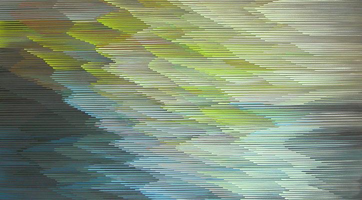 8.1.013, 90 x 140, Acryl auf Leinwand, 2013