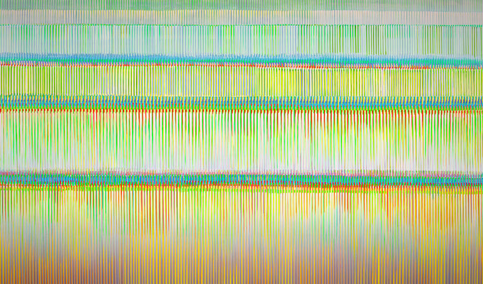 2. 1. 016, 150 x 250 cm, Acryl auf Leinwand, 2016