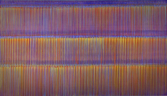 12. 1. 012, 80 x 140 cm, Acryl auf Leinwnad, 2012