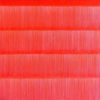 4. 1. 011, 90 x90 cm, Acryl auf Leinwand, 2011