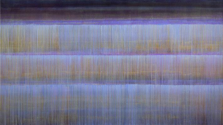 6. 3. 05, 90 x 160 cm, Acryl auf Leinwnad, 2005