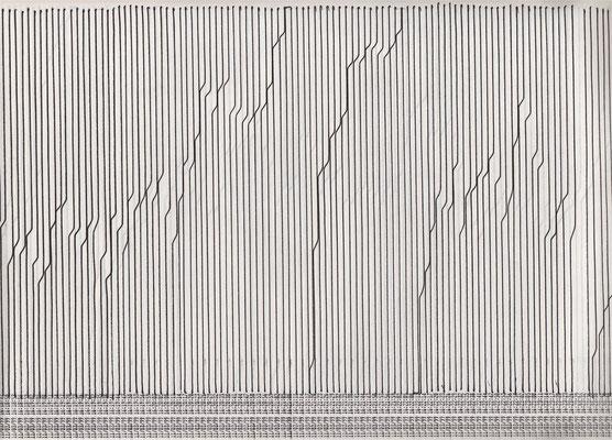 Zeichnung auf Endlospapier