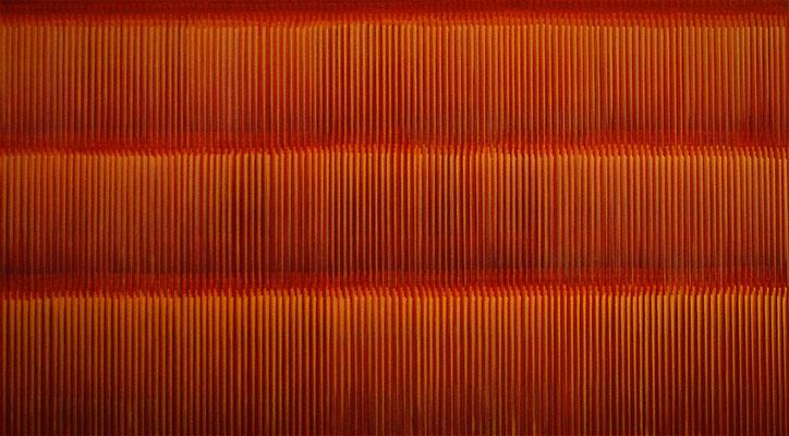 11. 2. 011, 90 x 160 cm, Acryl auf Leinwnad, 2011