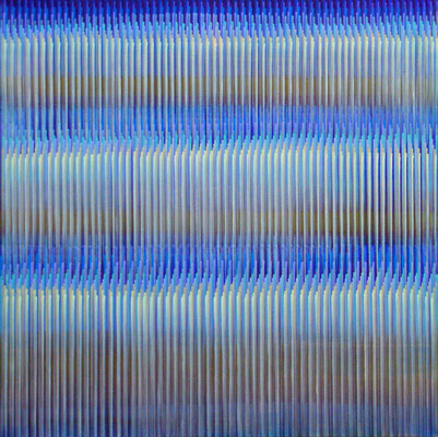 8. 3. 012, 80 x80 cm, Acryl auf Leinwand, 2012
