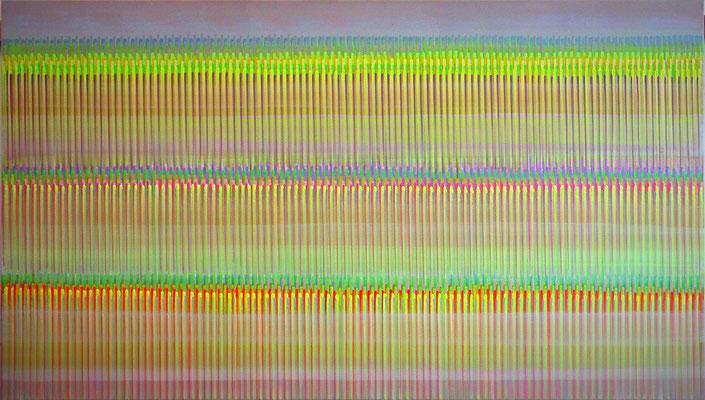 11. 1. 014, 80 x 140 cm, Acryl auf Leinwnad, 2014