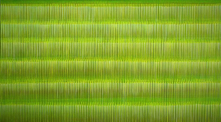7. 2. 011, 90 x 160 cm, Acryl auf Leinwnad, 2011