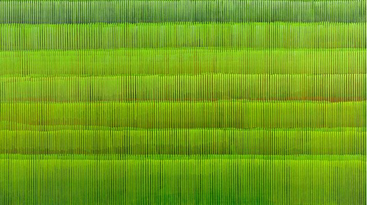 2. 2. 06, 90 x 160 cm, Acryl auf Leinwnad, 2006