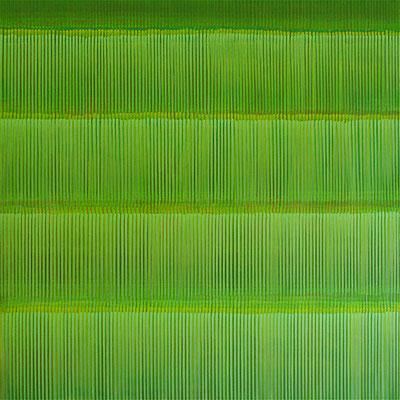 2. 2.03, 9100 x100 cm, Acryl auf Leinwand, 2003
