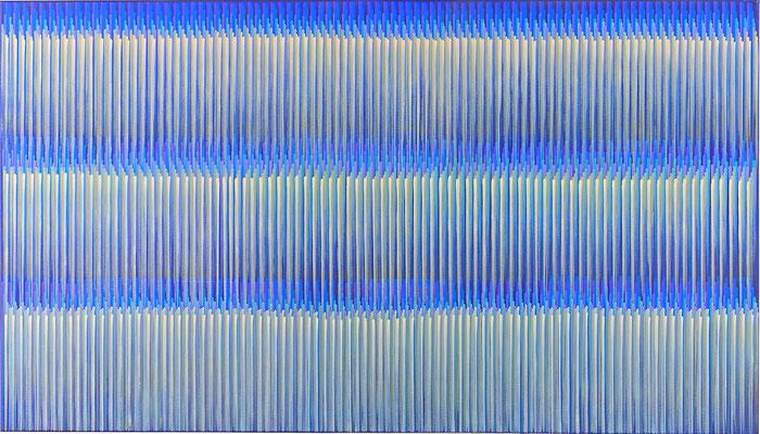 3. 2. 013, 80 x 140 cm, Acryl auf Leinwnad, 2013