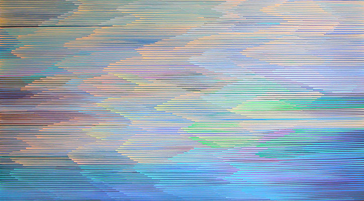 10.1.013, 90 x 140, Acryl auf Leinwnad, 2013