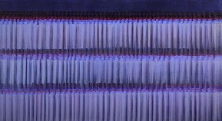 5. 4. 05, 90 x 180 cm, Acryl auf Leinwnad, 2005